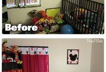 Mickey Mouse room / by Katlyn Angle