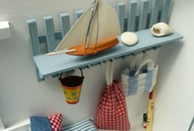 Miniatyr strandhus & cottage