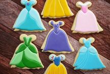 princess cookies / candy bar