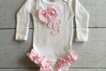 Baby Onesie's, bibs and accessories for newborns / Newborn baby / by GiGi's Doll Creations