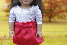 """American Doll/18"""" Dolls / by Mary Burdett Rice"""