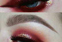 Ögon röd/orange