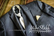 Mike Staff Productions Menswear / Wedding attire for the groom and his groomsmen