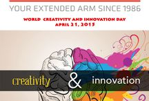 21 April World Creativity and Innovation Day / World Creativity and Innovation Day, was created for the purpose of awakening people's imaginations to enrich their lives, both in business and as individuals.