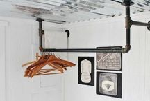 My Industrial/Antique Laundry Room