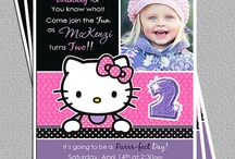 birthday party ideas / by Amber Palmtag