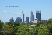 Perth Skyline / Images of the CBD of Perth Western Australia shot from different locations around the city.