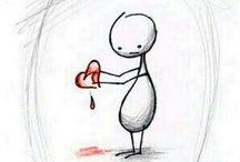 Broken hart... Can it mend again...