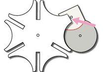 mecanismos en papel