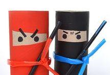 Wc rolletjes knutselen / Leuke DIY s voor je kids om te maken van wc rolletjes.