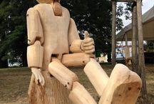 www.artzh.cz / Řezby - sochy, reliéfy