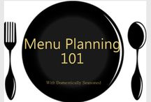 Meal Planning Tips / Meal planning saves you money, time, and give you peace of mind. Even if you only make a couple things in advance it'll be a huge help. Here are some great tips!