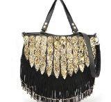 Fringed Handbags / Feel free and enjoy your boho style