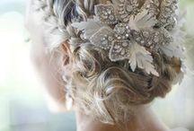 Wedding Hair // Hair Pieces  / ❤️❤️❤️