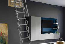 scale retrattili / scale retrattili - loft ladders - escaliers escamotables - escaleras escamoteables