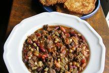 Soups and stews / by Susan Cozort Jones