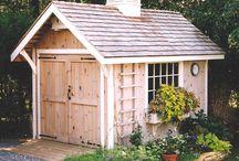 Storage shed / by Carolyn Frederick