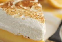 Lemon merange pie
