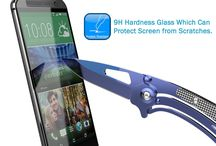 M8 Tempered Glass Screen Protector, Punkcase SHIELD for HTC One M8 0.33mm Thick 9H ! / Punkcase Glass SHIELD is build with the highest quality tempered glass to obtain the best HD clear visibility. Punkcase Glass SHIELD covers the whole screen unlike other screen protectors from competitors. It also has 2.5D rounded edges, 0.33mm thick and has 9H hardness for superior protection.