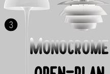 Colour in Interiors: MONOCHROME