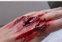 Special Effects Make Up / Casualty, zombie, Halloween, etc