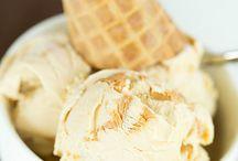 Desert and ice creams