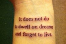 Tattoos  / by Brooke Monk