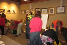 Flower Arranging / We partnered with Betty Ford Alpine Garden and Cedars flowers for this fun event.