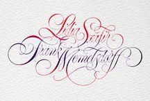 Escritura cursiva inglesa