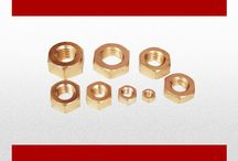 BRASS NUTS / Every Product In Factory Has To Pass Through Strict Quality Control Tests And Only Those Products Leave The Factory, Which Pass The Accepted Standards. All Products Are Made From High Quality Brass And. The Production Method Is Sand Casting. To Give A Long Lasting Finish And Better Results.