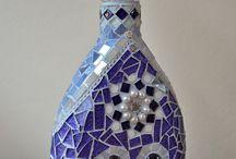 Mosaik Flaschen