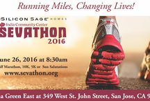 """Sevathon 2016 / Silicon Sage Homes presents India Community Center's Sevathon 2016, the nation's largest and only race to celebrate the spirit of """"seva"""" or """"service.""""   Walk, run, dance or do yoga, your service will count towards the progress of the community!"""