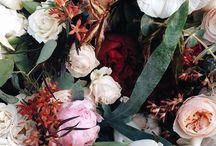 Wedding church flower blush