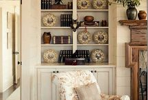 Bookcases / A well appointed bookcase is pleasing to the eye. / by Paula Nicholson