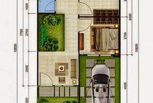 Layout Rumah Minimalis