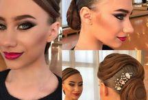Ballroom / Make-up, hairstyles