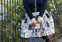 Nicolette Mason / Plus Size Blogger for Marie Claire
