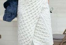 юбки спицы