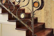 Korlát - saját tervezés - balustrade - own design / lakberendezés, belsőépítészet, interior design