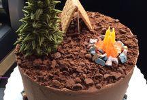 Scouts Keas cake