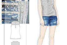 Tasarımlarım / giysi ve desen çalışmalarım