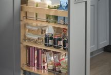 Kitchen Organization / Get rid of clutter and organize your kitchen cabinets with Hardware Resources