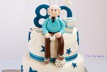 torta de cumple 80