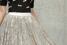 Sequins Outfits / Sequins are coming back with a vengeance. Long thought of as old and ugly, sequins are making a comeback and dominating the fashion industry once again. Check out our Sequin Outfit  board for some inspiration for how you can utilize this look.