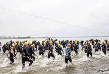 Triathlon 2015 / Triathlon Huizen met finish in Ooostermeent (foto's: Vincent Snoek)