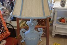 Chalk Paint® Louis Blue / Furniture and items painted with Chalk Paint® in color Louis Blue