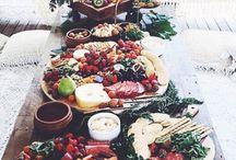 Food and platter ideas  / Food
