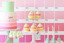 Party pastel