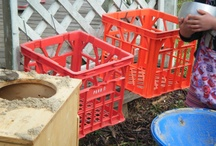 Outdoor play and storage