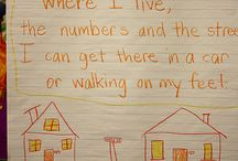 Teach address & number / by Allison Silverman